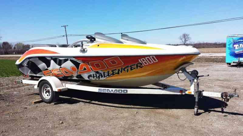 SeaDoo Jet Ski Wrap
