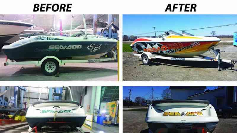 SeaDoo Before & After