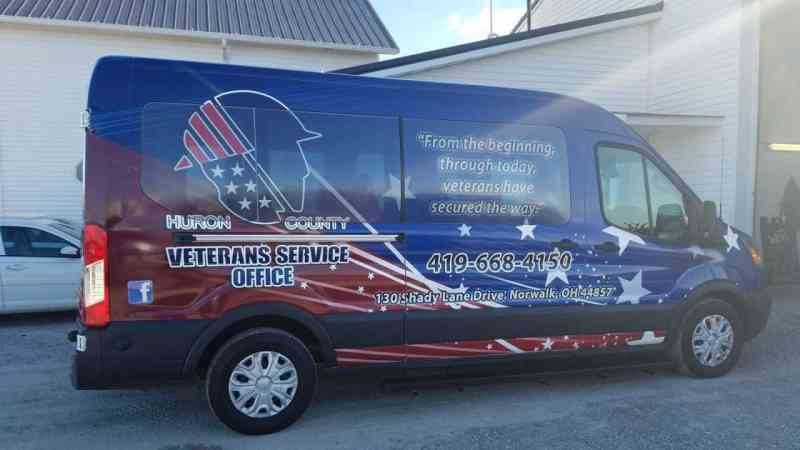 Huron County Veterans Service Wrap