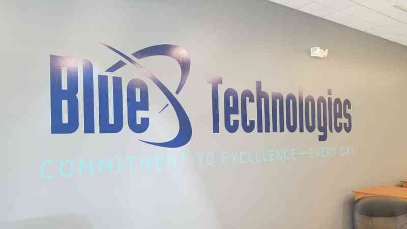 Blue Technologies Wall Graphics