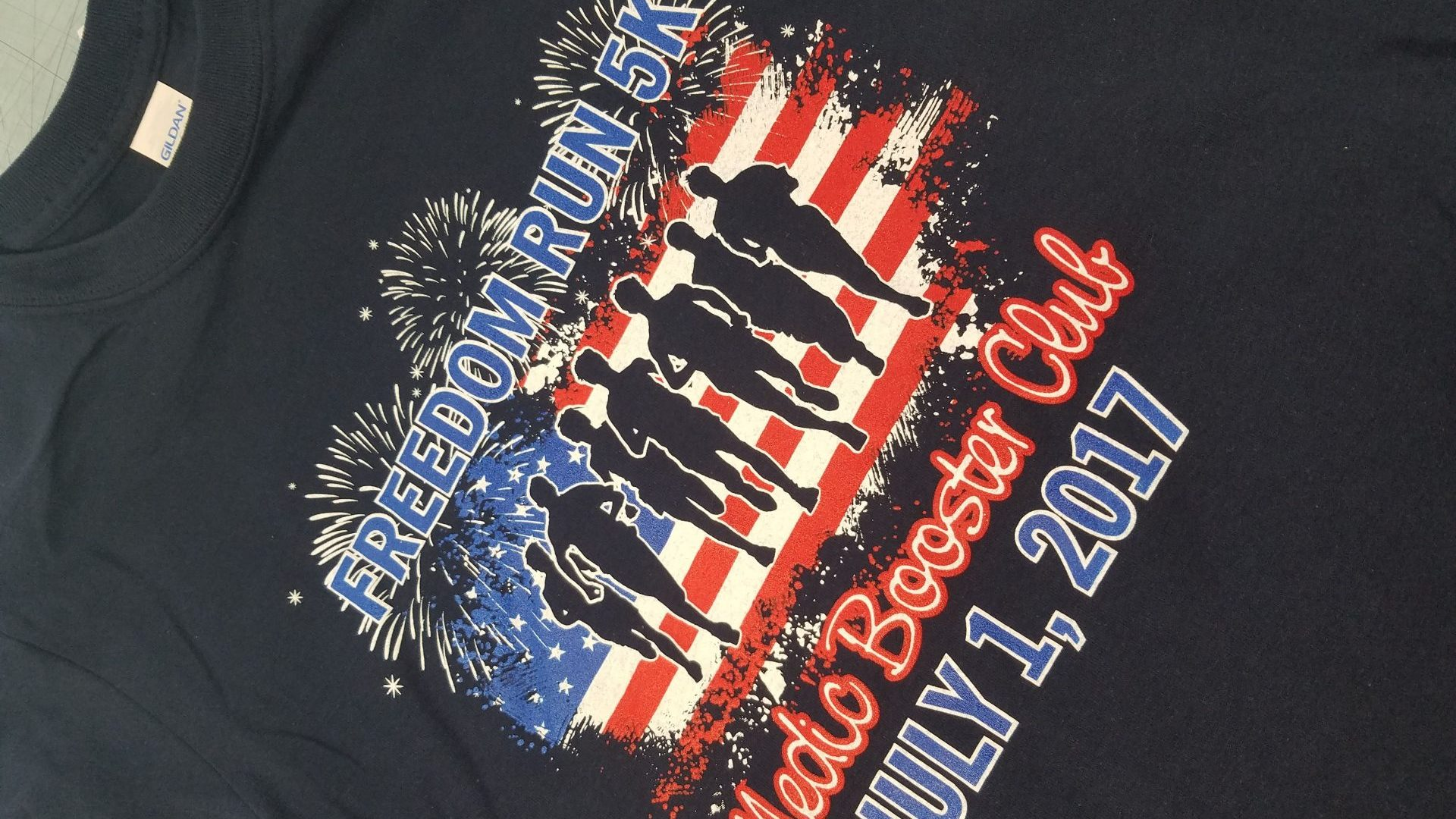 Freedom Run 5K Shirts