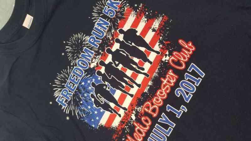 Freedom Run 5K Shirts