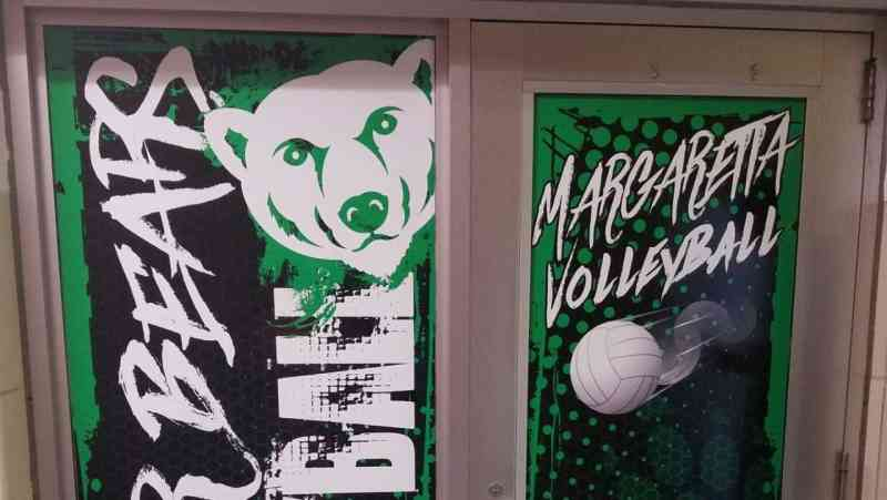 Margaretta Locker Room Doors 3