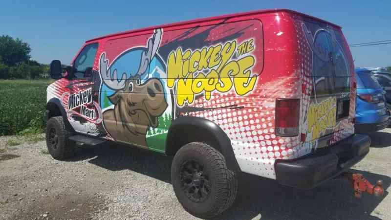 Mickey the Moose Van