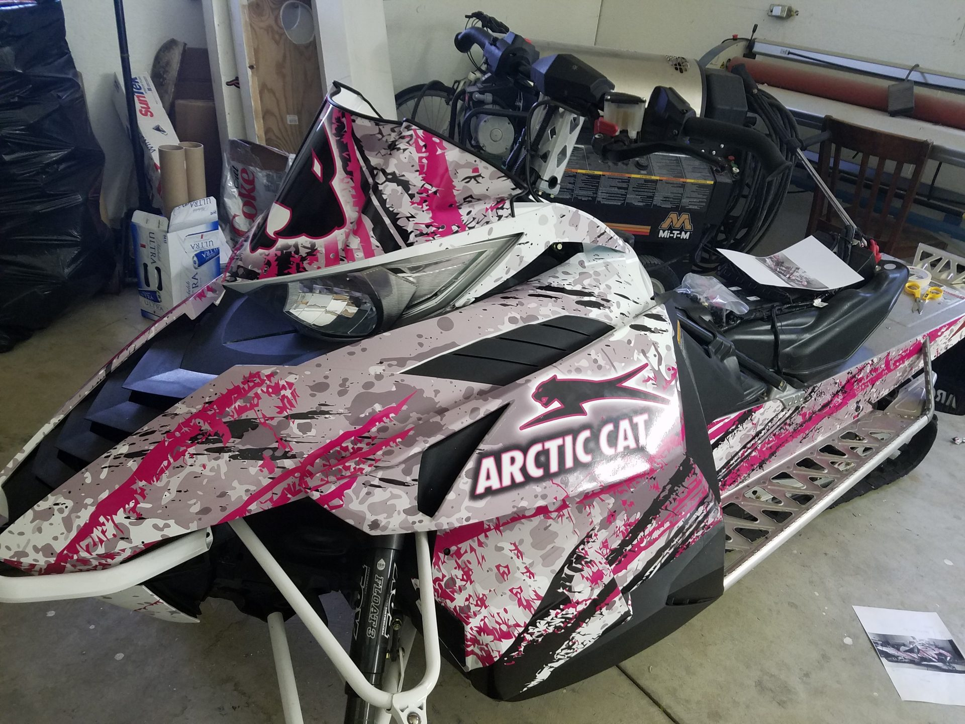 Snowmobile Hendricks