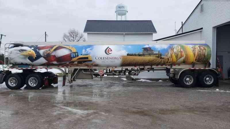 Coles Energy Large Tanker 43ft