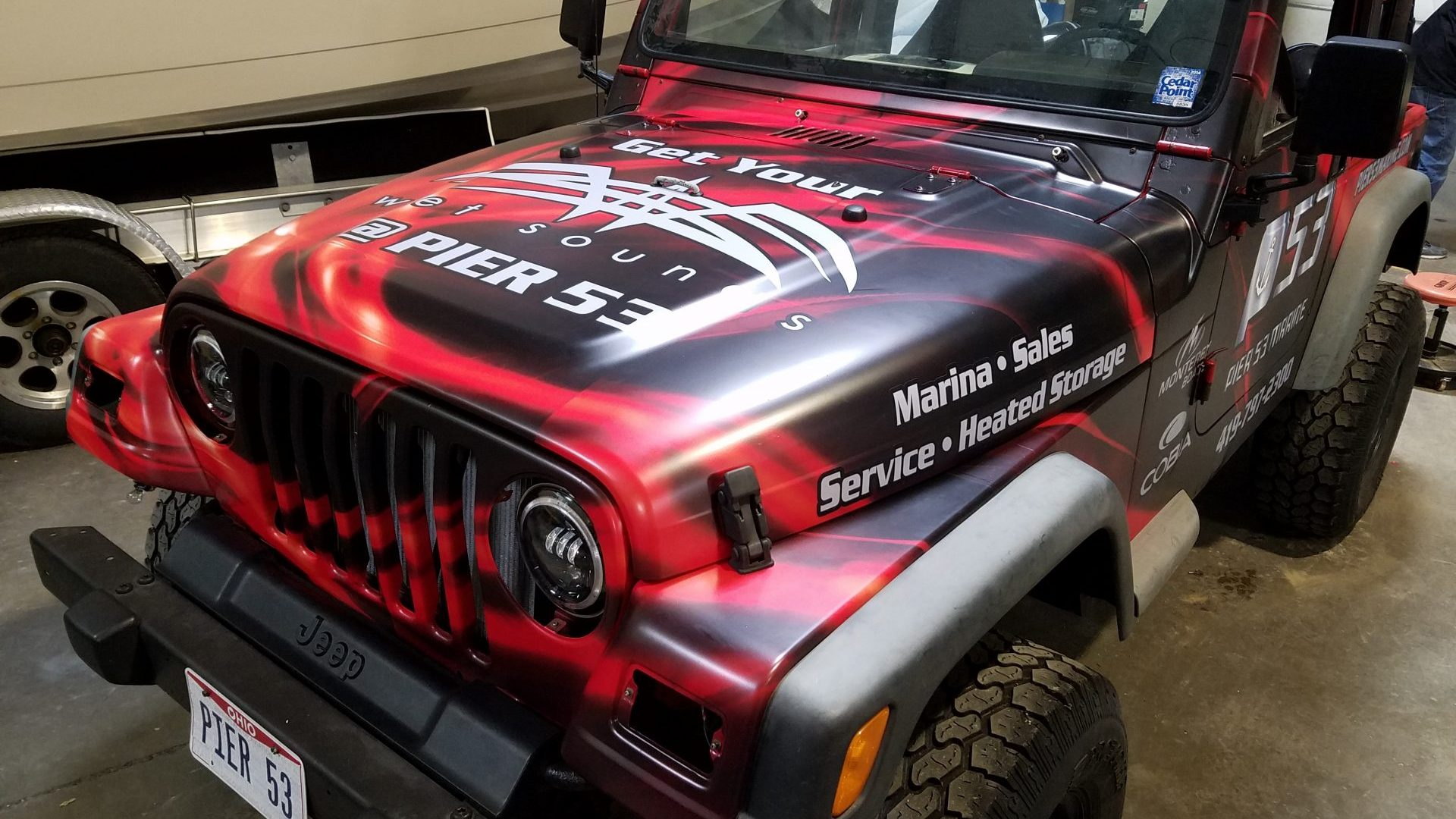 Pier 53 Jeep