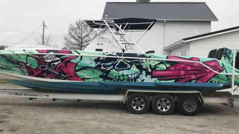 Stutzman Boat Wrap