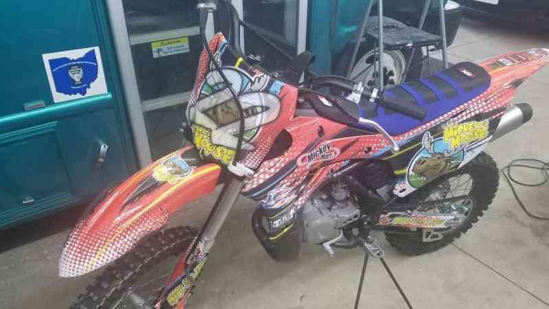 Mikey Mart Dirt Bike Wrap