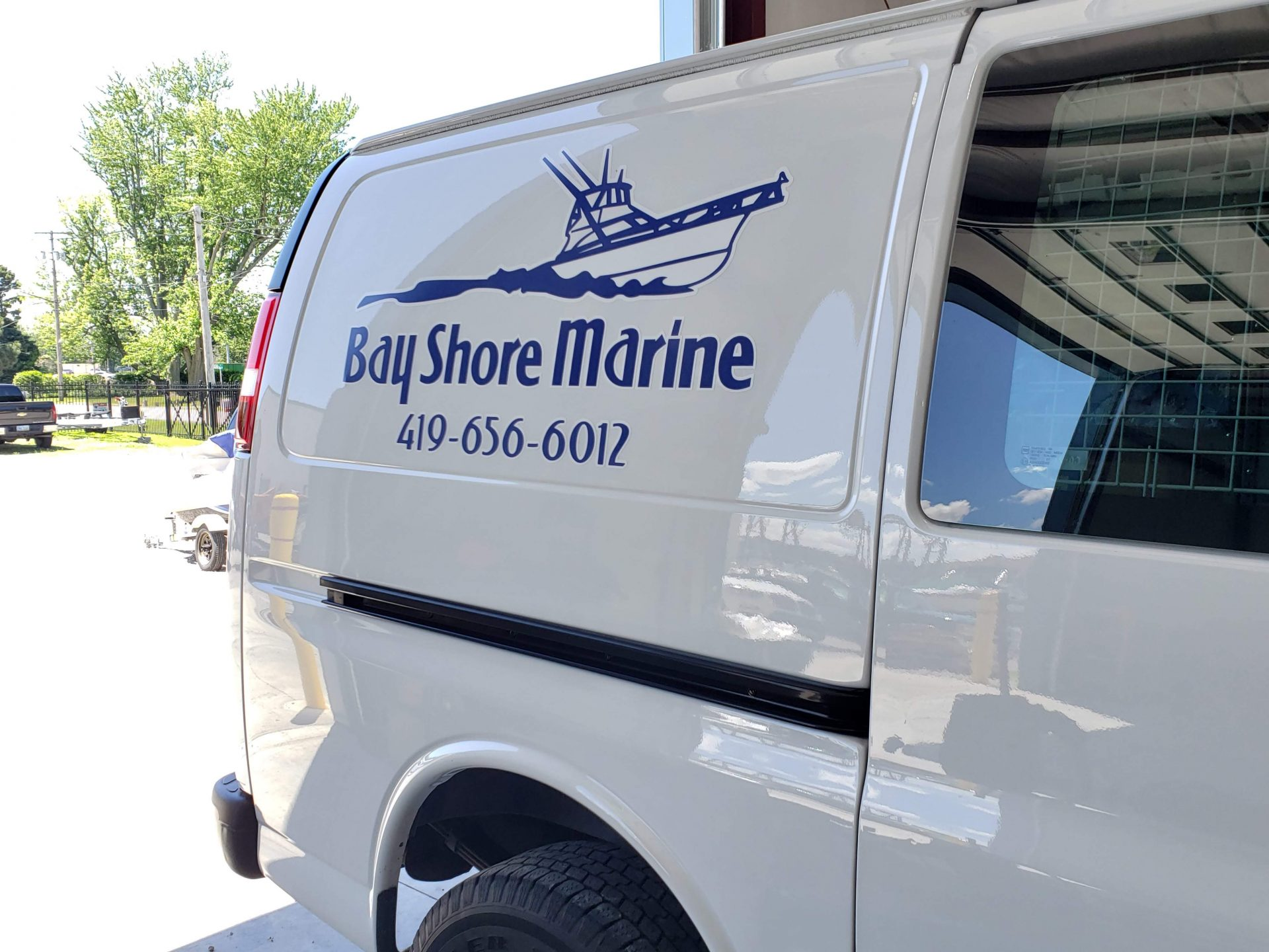 Bay Shore Marine Van