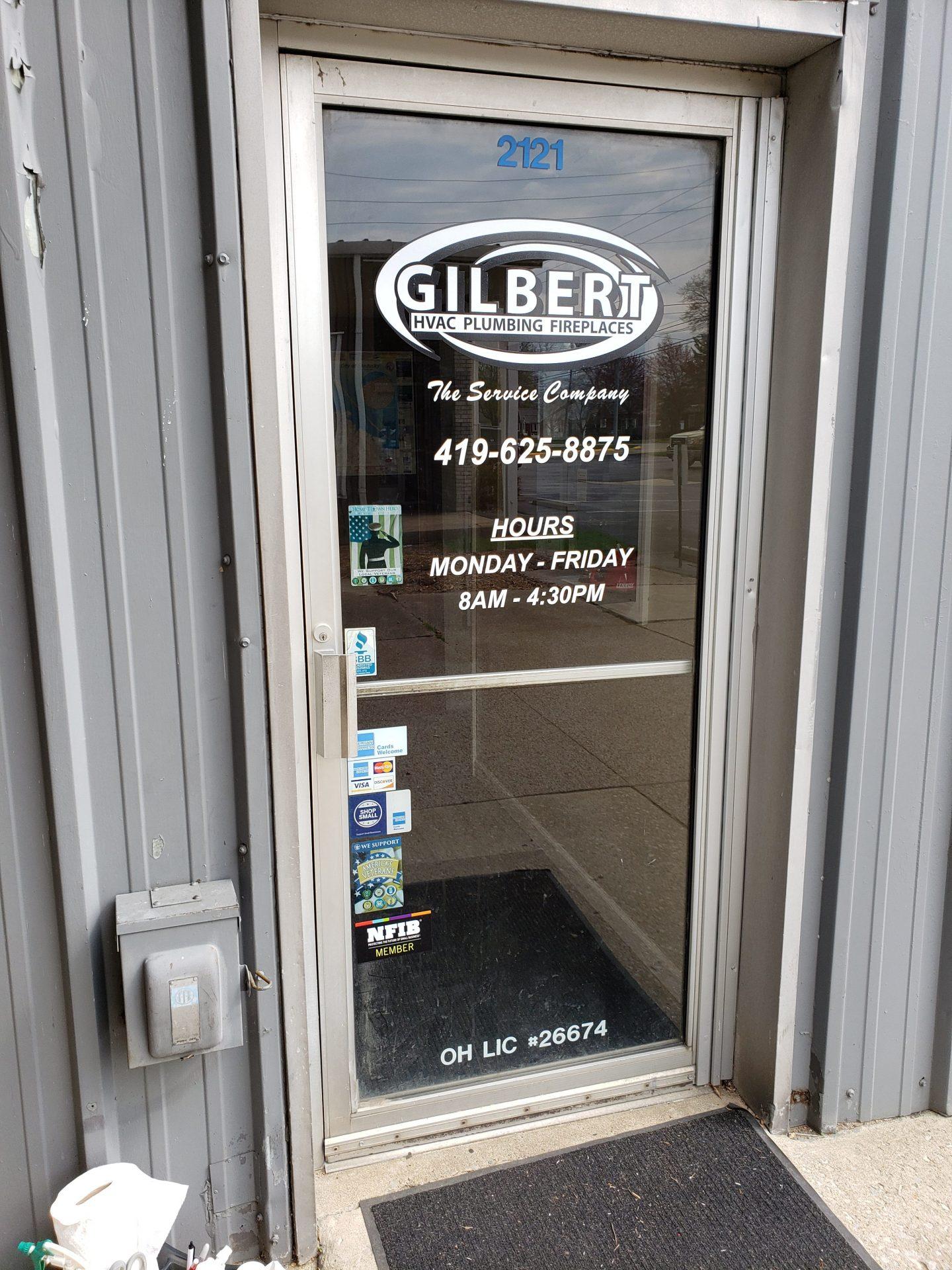 Gilbert Door