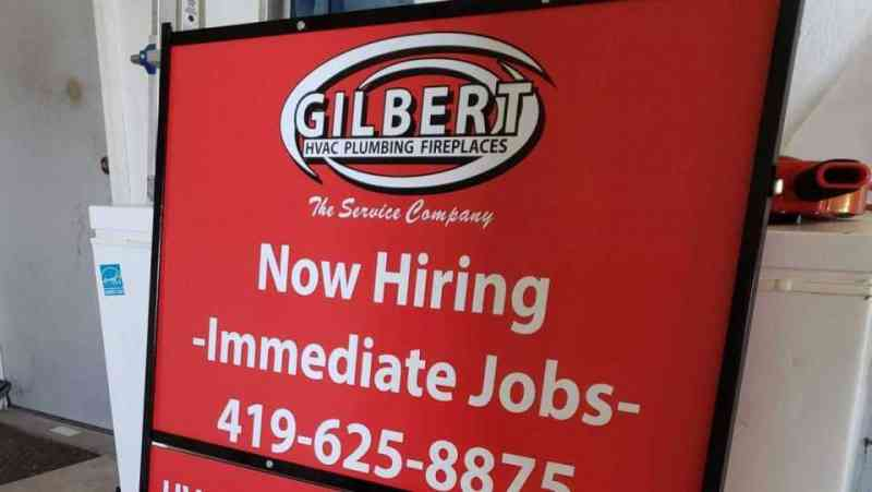 Gilbert Heating Real Estate Sign