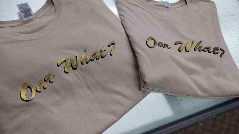 Oar What shirts