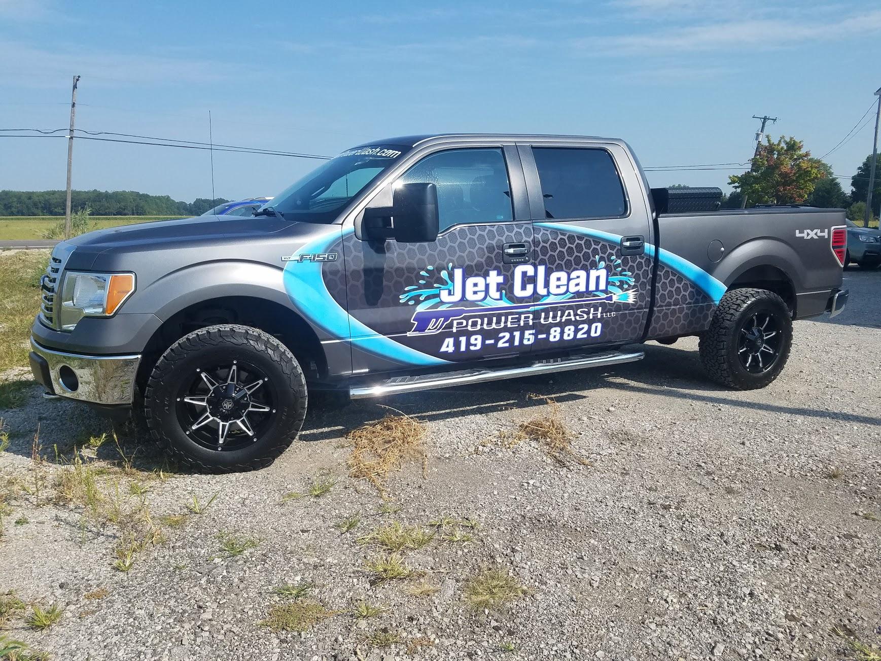 jet clean truck