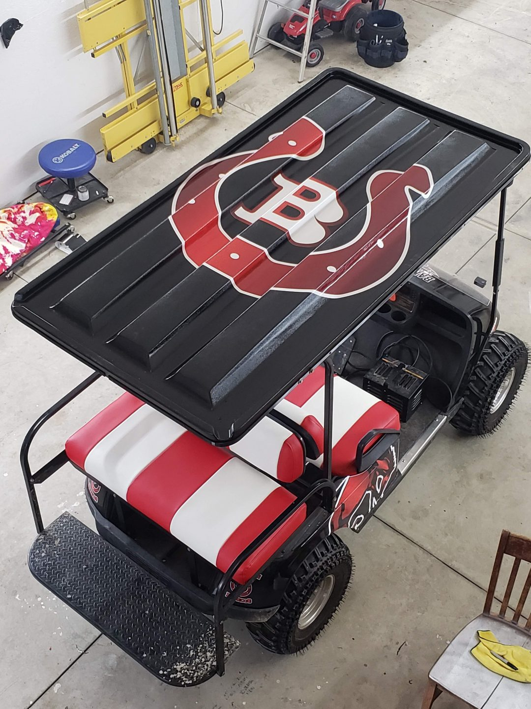 BarringtonBroncosGolfCart2