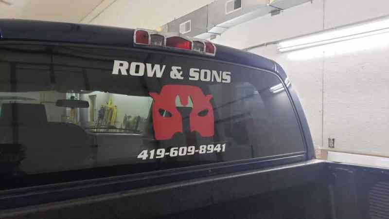 Row & Sons Truck