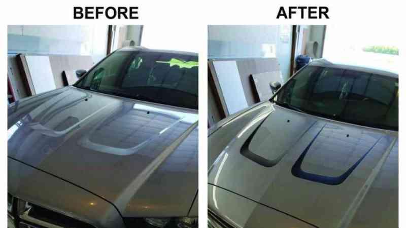 charger hood inlay