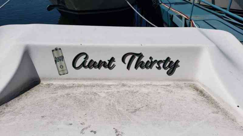 Aunt Thirsty Dock Box