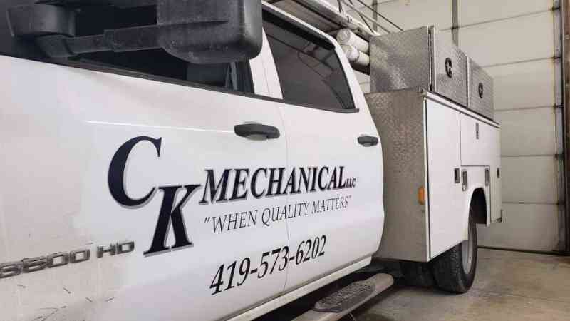 Ck Mechanical Utility Truck