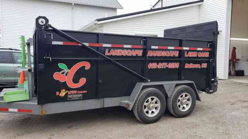 Cherry City Landscape Trailer