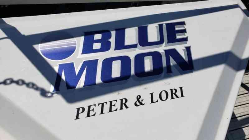 Blue Moon dock box